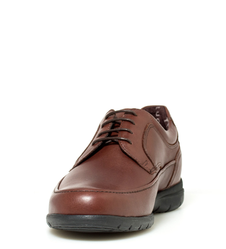 Fluchos Chaussures En Cuir Marron Luca confortable nouveau débouché 2015 à vendre à vendre Footlocker moins cher S8m3VoF