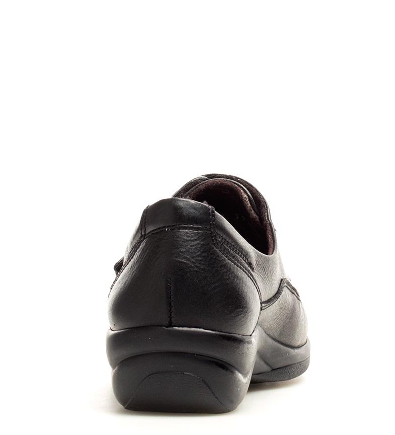 magasin de destockage pas cher professionnel Fluchos Chaussures En Cuir Noir Sanotan Antiallergiques original Livraison gratuite extrêmement OKmwIUktW