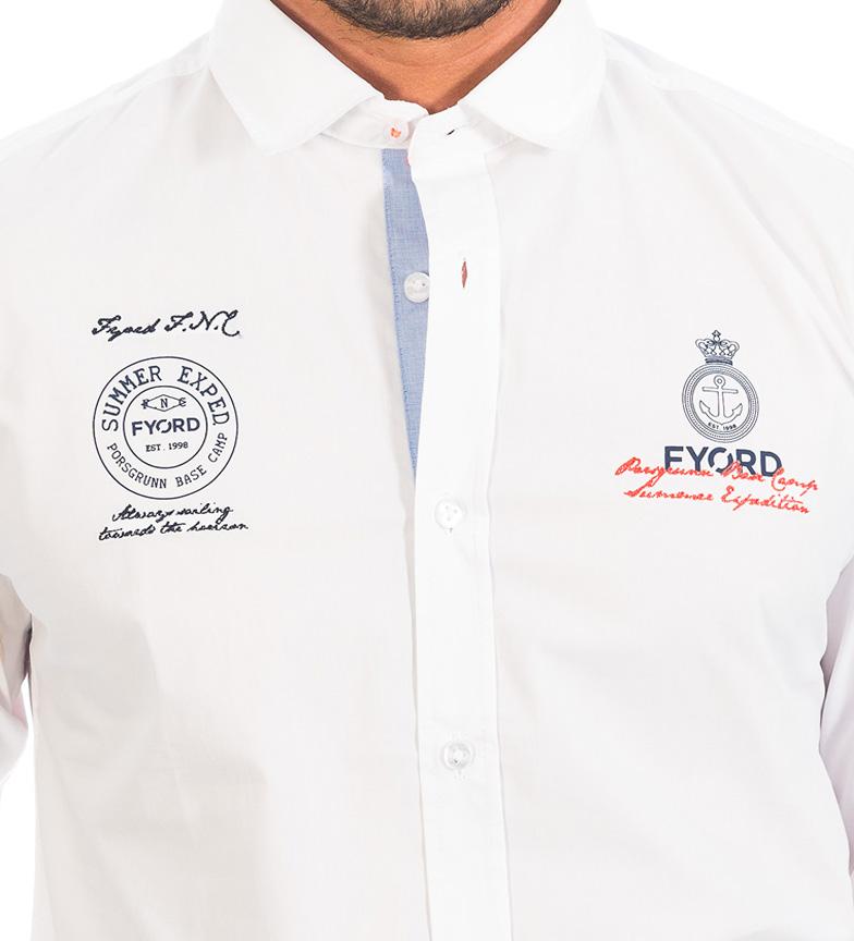 Livraison gratuite authentique magasin discount Subvention Chemise Blanche Fyord EEDcsm0