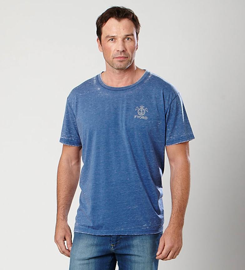 Fyord Camiseta Marino Clé vente Boutique qualité sortie 100% authentique euXFa