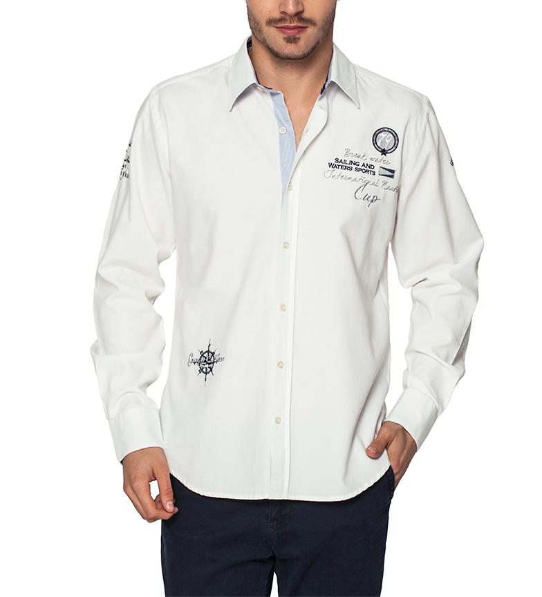 Sea George Camisa Coupe Blanco Nautic Nice 6PBlYdVvh