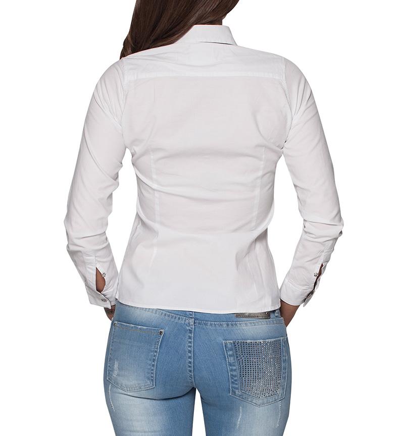 Sea Camisa Parrua Blanco Giorgio vraiment sortie JimHAQLE