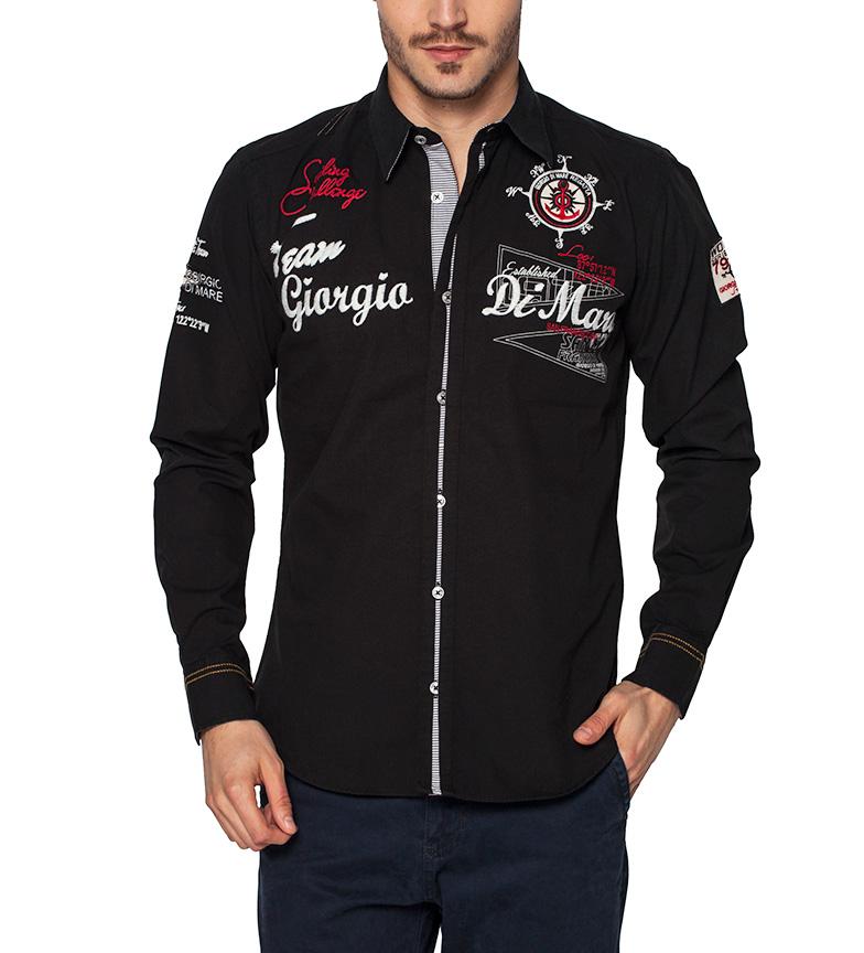 jeu rabais Sea George Camisa San Francisco Negro prix de sortie Parcourir pas cher prix incroyable sortie 3VMYW