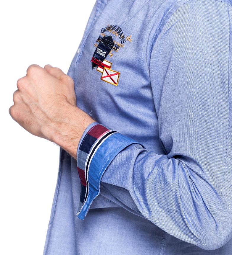 Sea George Cru Yachting Camisa Azul multicolore sneakernews yRqcuegGU9