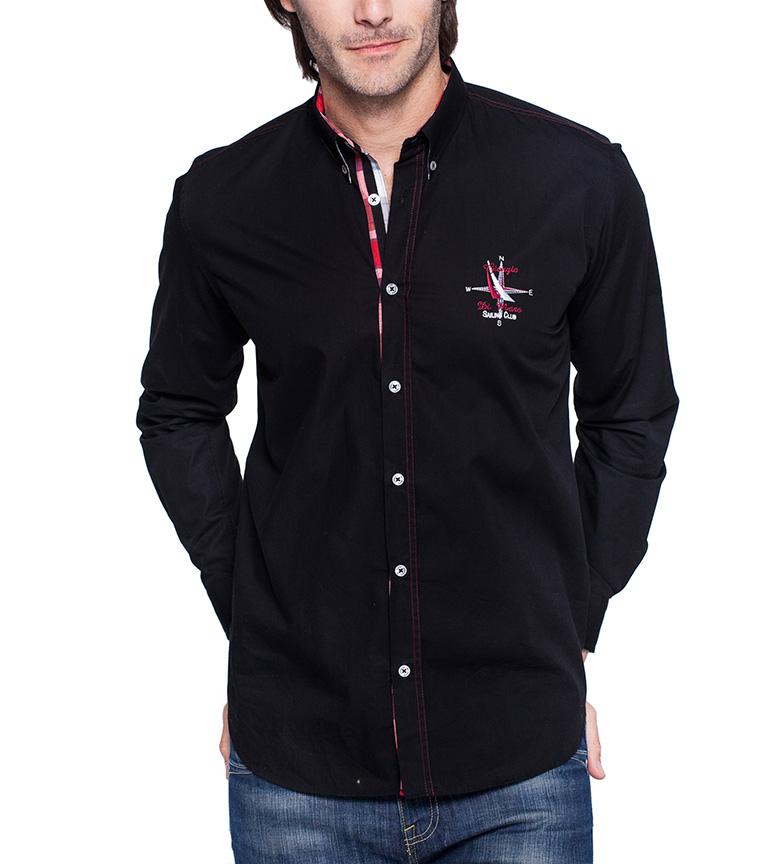 Sea George Camisa Cup Negro Gagnant à vendre en ligne vue exclusif à vendre officiel de sortie cZzxYrV