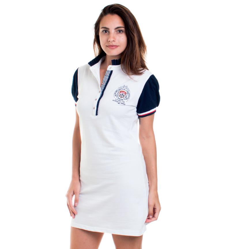Sea Vestido Blanco Poutres George coût de dédouanement 6pM4Ao