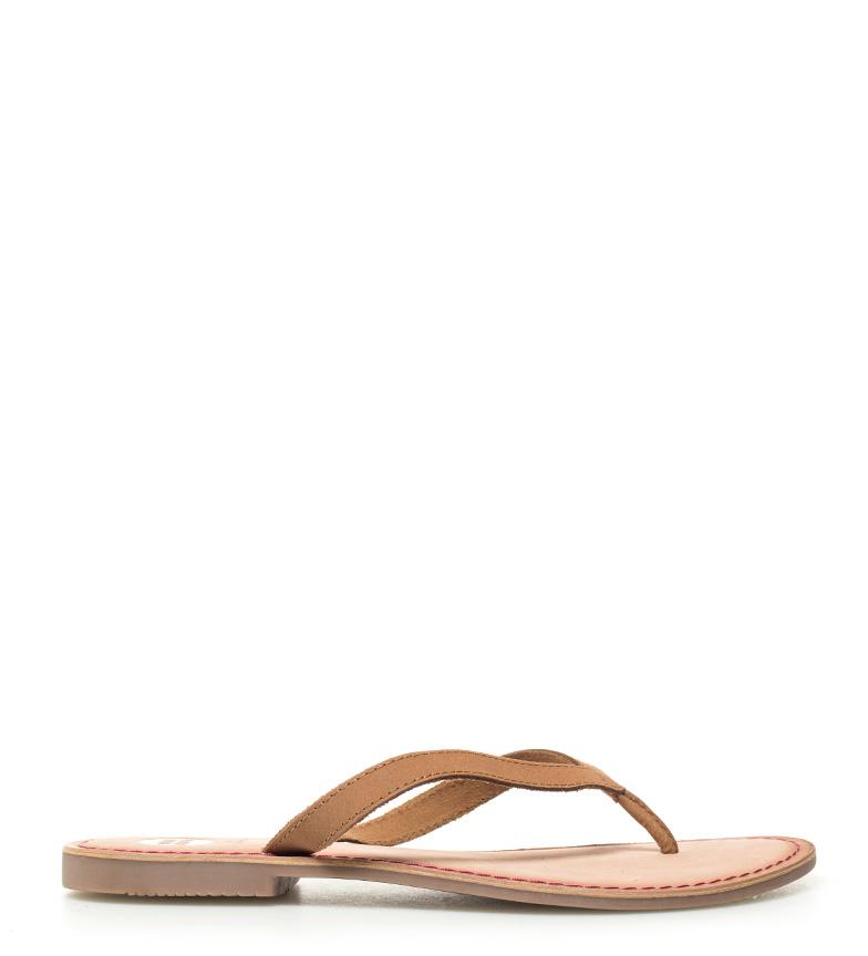 Sandales En Cuir Marron, Gioseppo Décorer Fuchsia