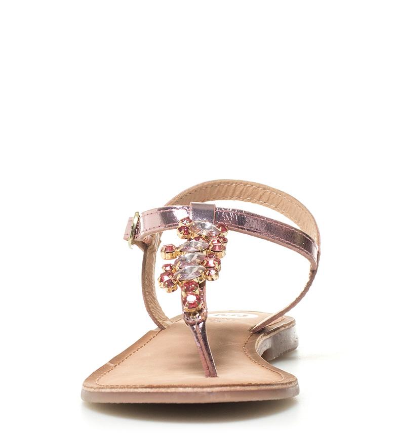 obtenir acheter Sandales En Cuir Gioseppo Genèse Rose remise Nbf5i
