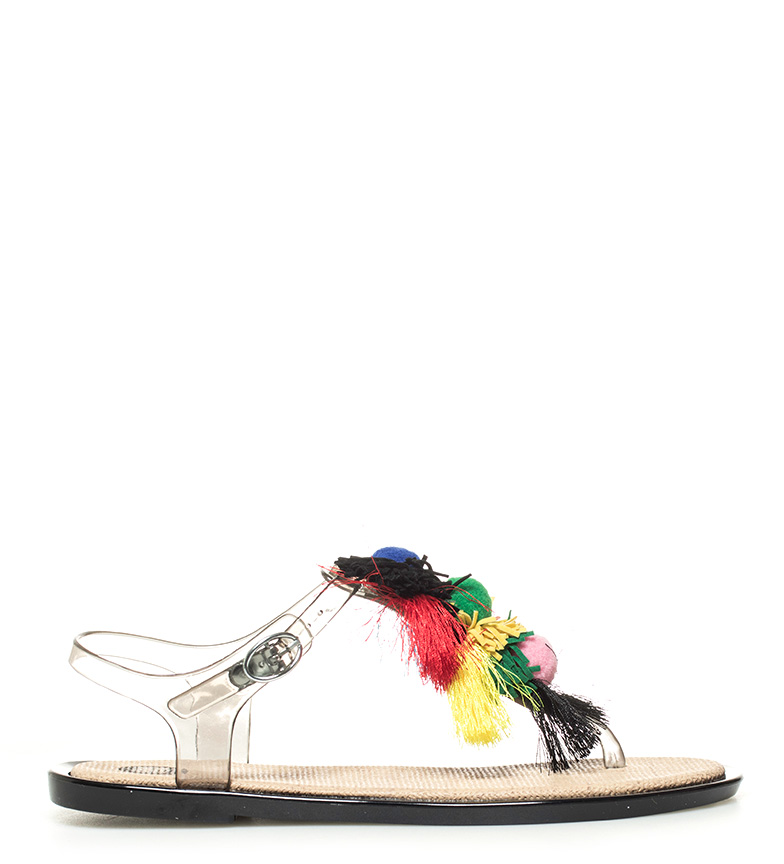 Gioseppo Rigoberta Sandales Noires, Multicolore