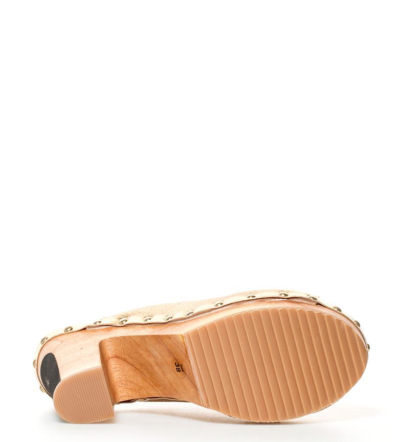 prix des ventes Gioseppo Obstrue Hauteur Du Talon D'or Peau Yesa + Plate-forme: 11cm réelle prise 3jMU6D