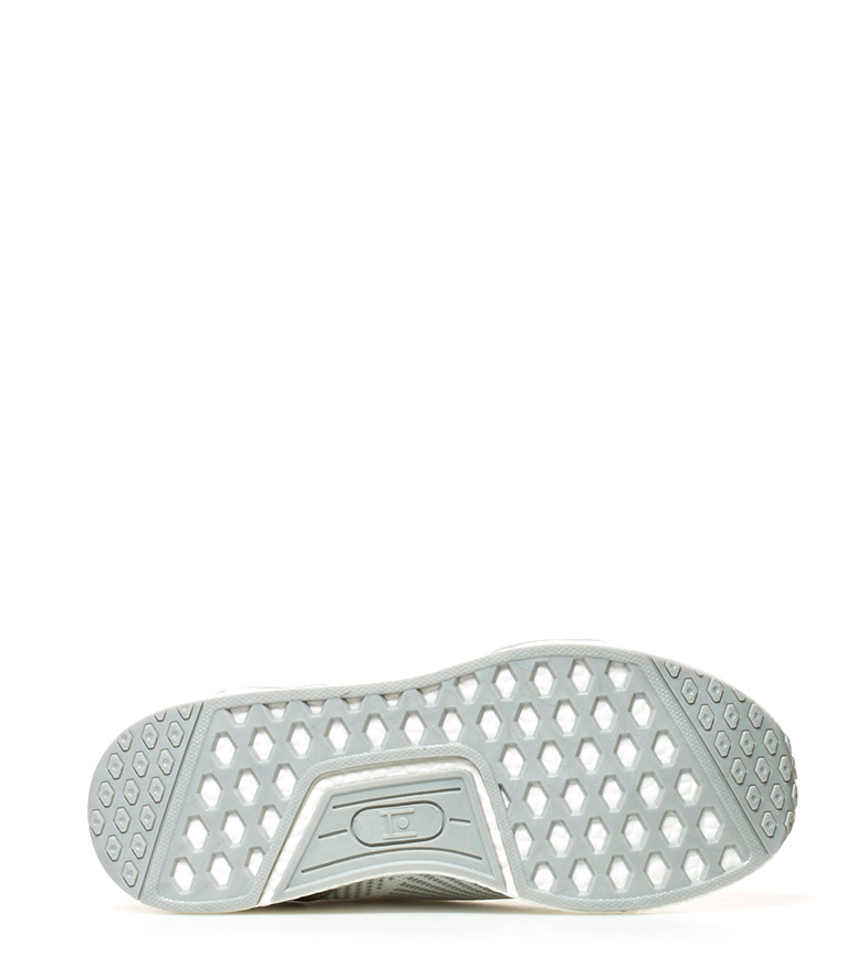 Chaussures Hakimono Kuyi Blanc, Gris