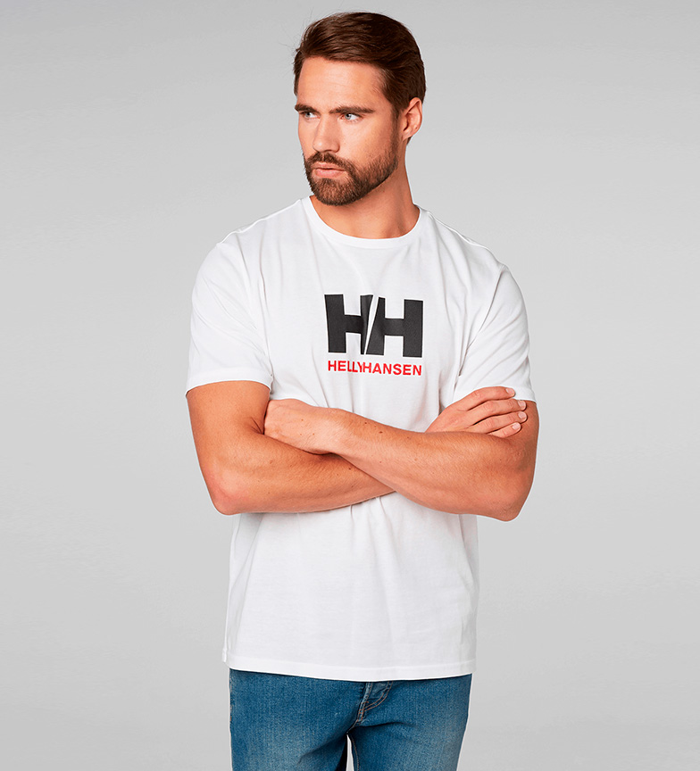 Logo Helly Hansen Helly Hh Camiseta Blanco Hansen 5qHwS6X