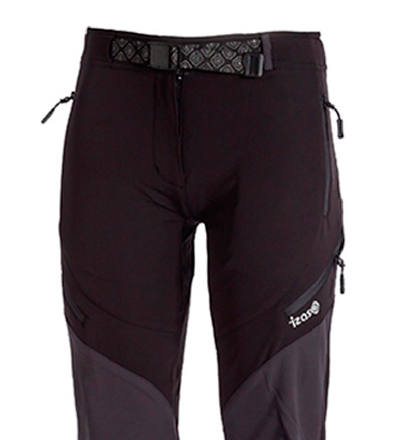 Pantalon Izas Navia Noir, Gris Foncé