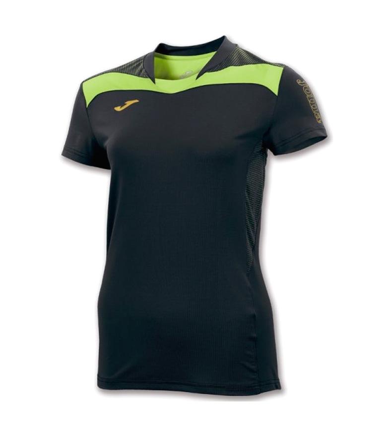 Joma Camiseeta Sans Negro-verde M / C Femme l'offre de jeu 2014 unisexe Manchester en ligne jeu ebay ensoleillement rASdBM7Q3