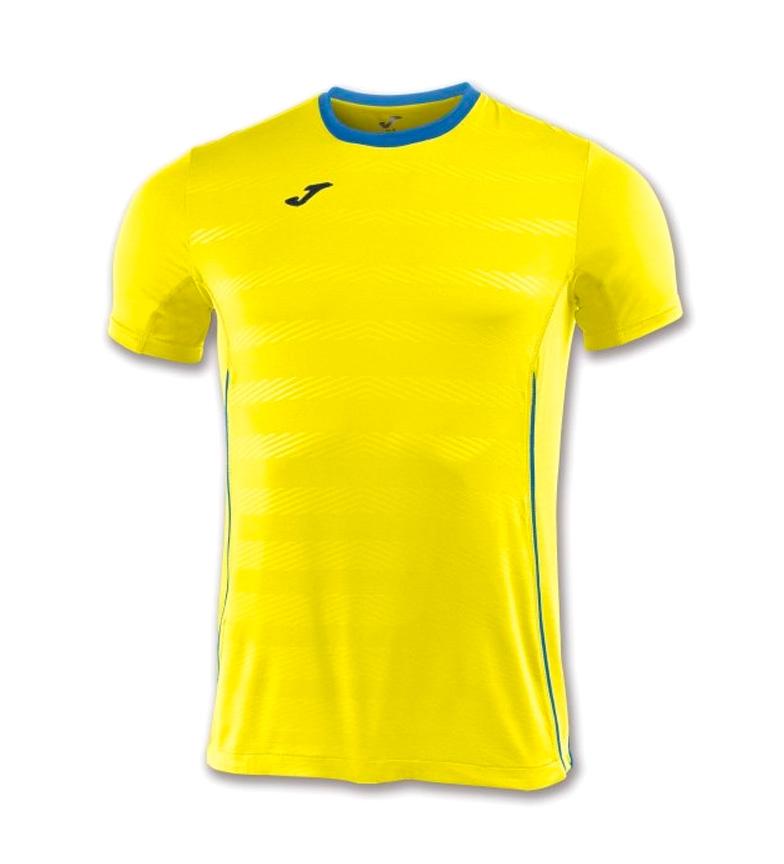 Joma Camiseta Modena Amarillo M / C Livraison gratuite exclusive R7Xkc