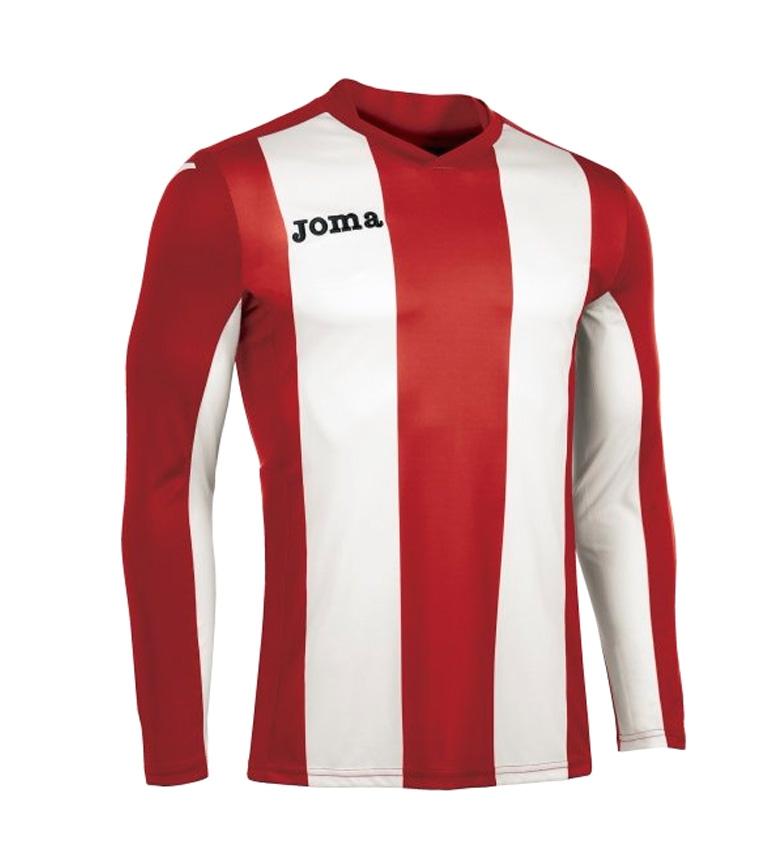 M / L Chemise Rouge-blanc Joma Pise boutique en ligne neXI8aKdty