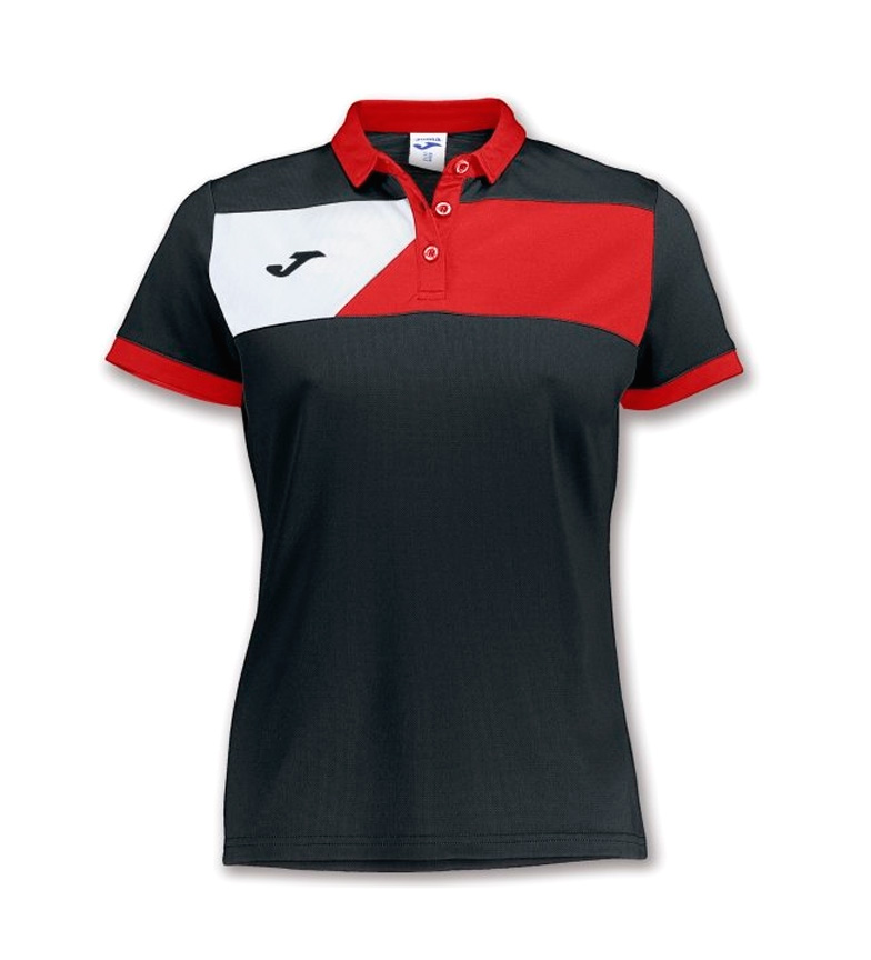 magasin de vente Joma Polo Équipage Ii M / C Femelle Noir-rouge réductions jeu commercialisable 1PNs3Na