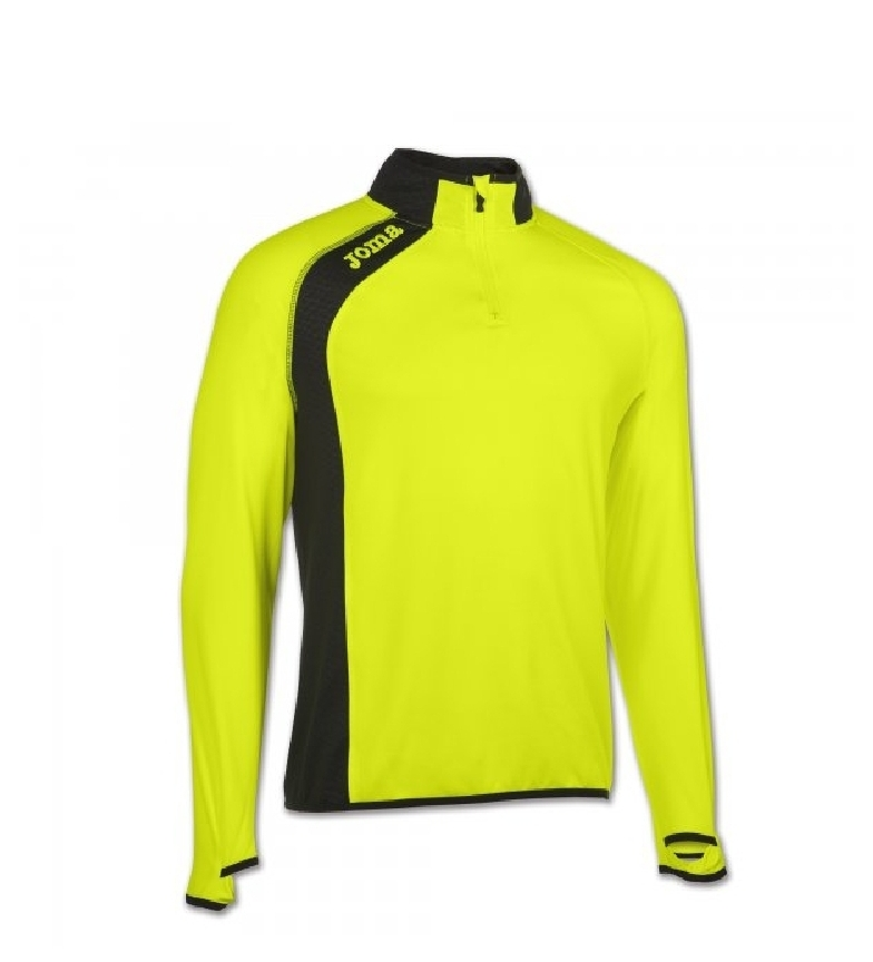 Joma Sweat-shirt 1/2 Zip Élite Fluor Green V livraison rapide jmgJkp