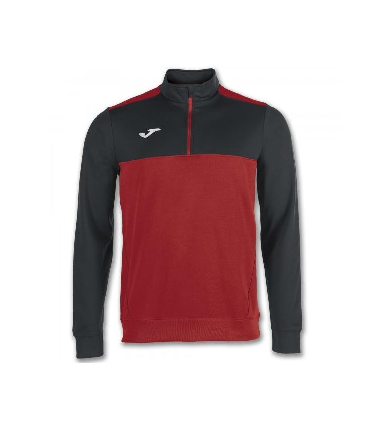 shirt 2 Sweat Joma Zip Gagnant 1 Rouge noir 4Aj5RcL3q