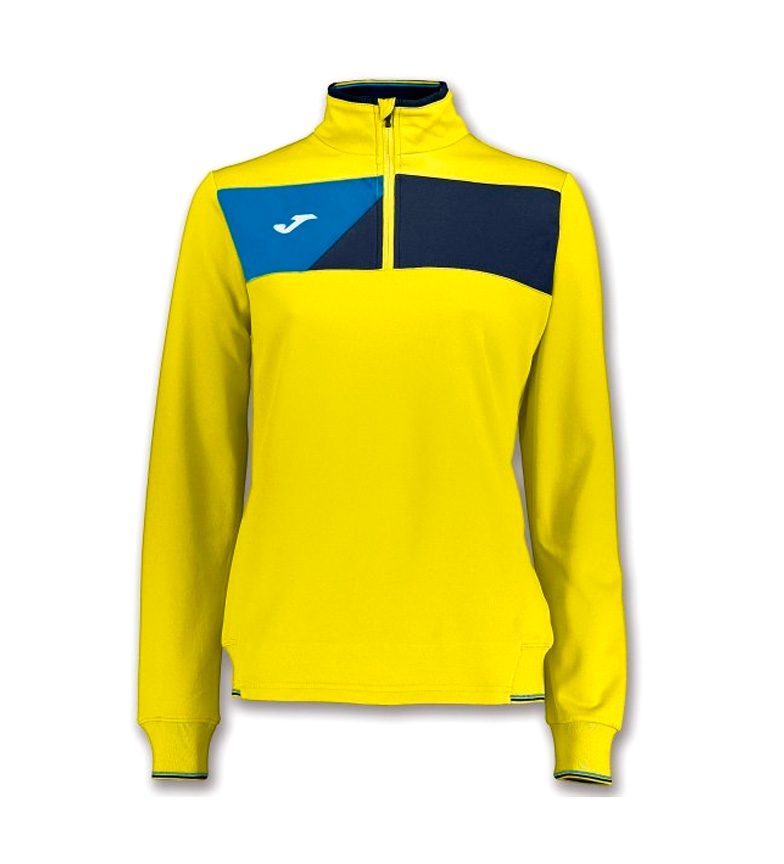 Sweat-shirt Joma Équipage Jaune-marine Ii Femme sortie 2015 nouvelle Ui0kSfa