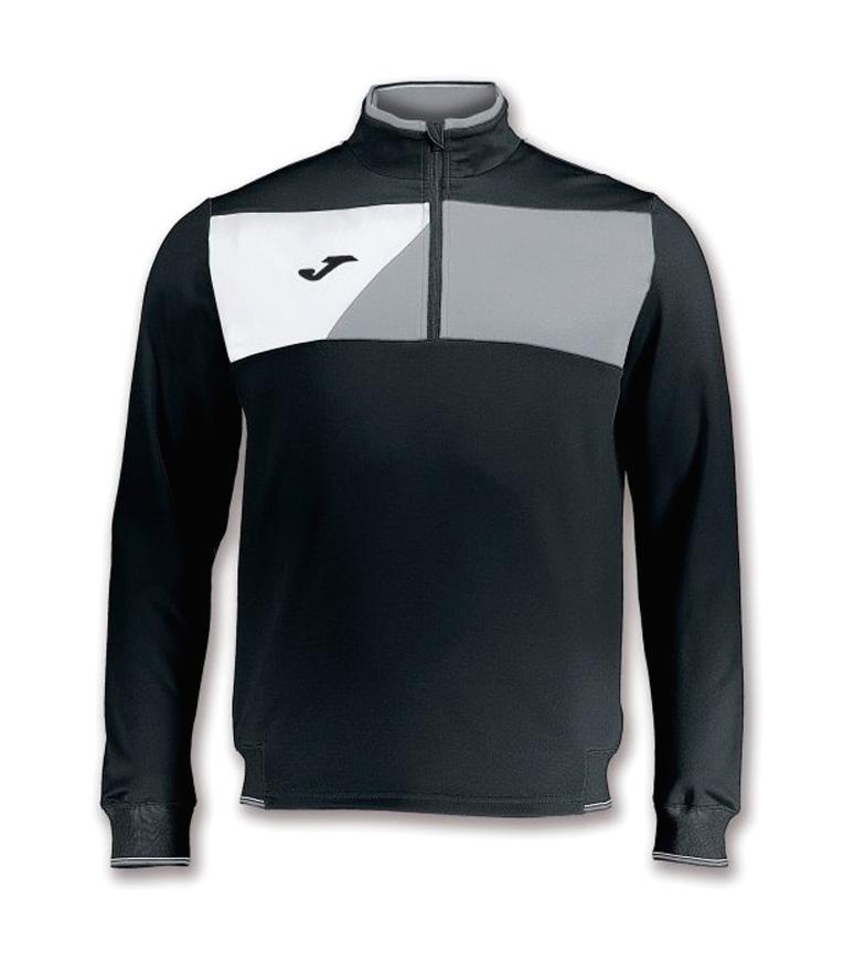 boutique pour vendre original jeu Sweatshirt Joma Équipage Noir Gris Ii boutique achat vente rxJk2b