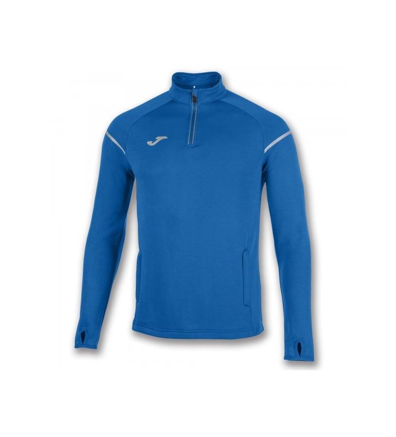Joma Sweat-shirt 1/2 Royal Course Fermeture Éclair