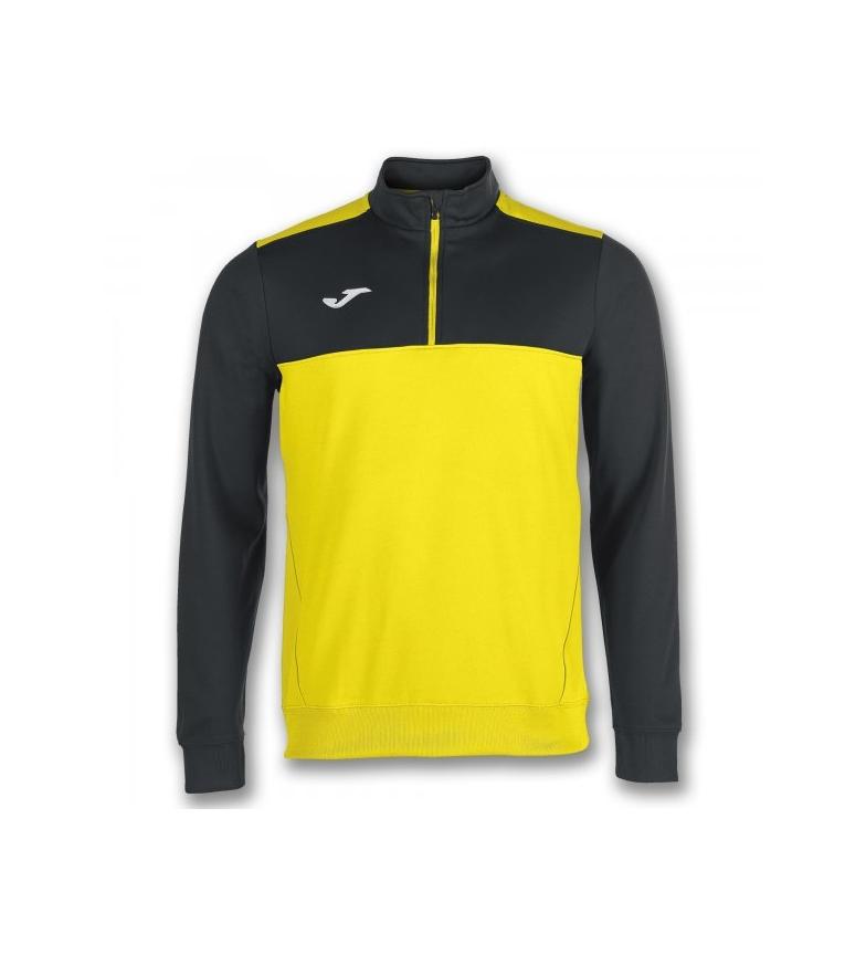 Joma Sweat-shirt 1/2 Gagnant Zipper Vert-noir réduction Economique super promos Livraison gratuite profiter 1eoLi2xF