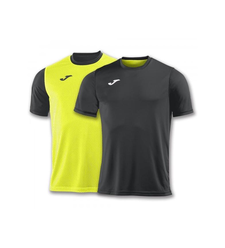 S / S Joma T-shirt Anthracite-jaune Combi Réversible nicekicks discount GAKnp