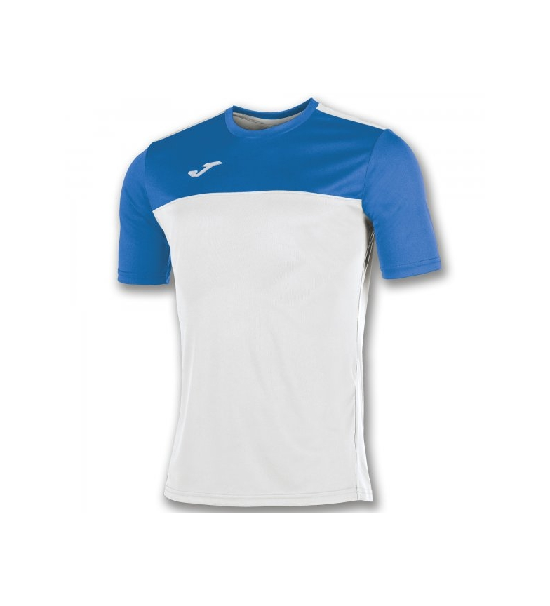 S / S Joma T-shirt Blanc Gagnant-royal images footlocker ldabSw
