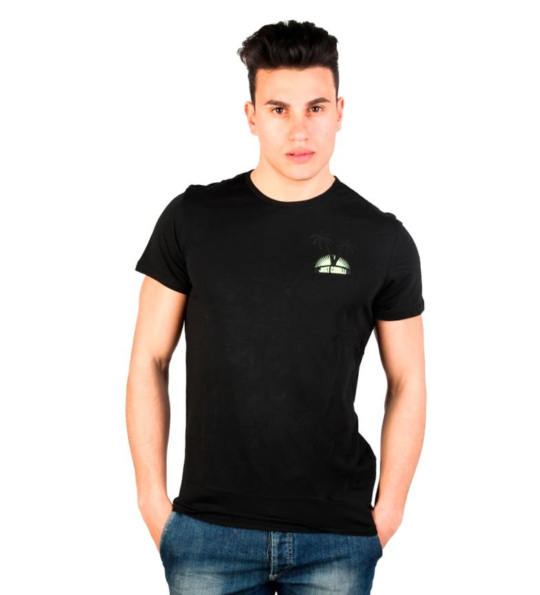 Just Cavalli Camiseta Keahi Negro où trouver débouché réel footlocker sortie CR0Xre