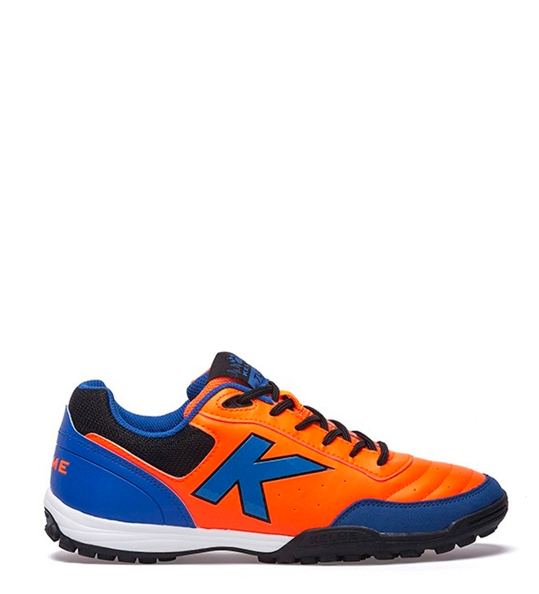 vrai jeu Kelme Chaussures D'orange De Football K Forte Gazon D'orange Chaussures b2bbb2