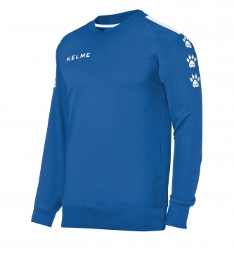 Coût Kelme Sweat-shirt Bleu Lynx très en ligne qZ2c0b7R