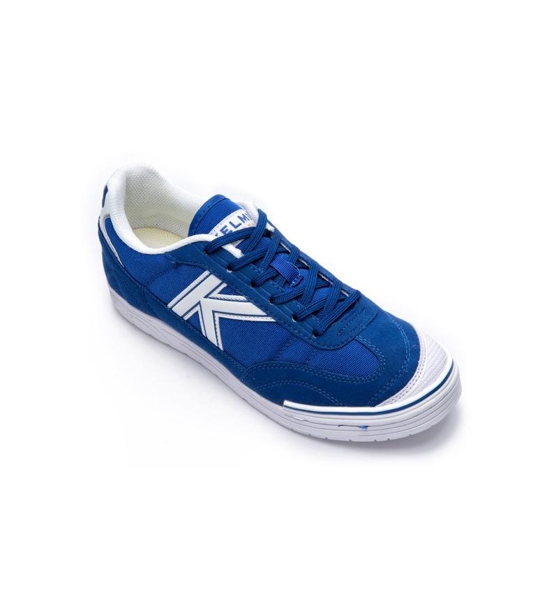 2018 Kelme Futsal Chaussures Blue Thunder réduction en ligne 4FwsTOn