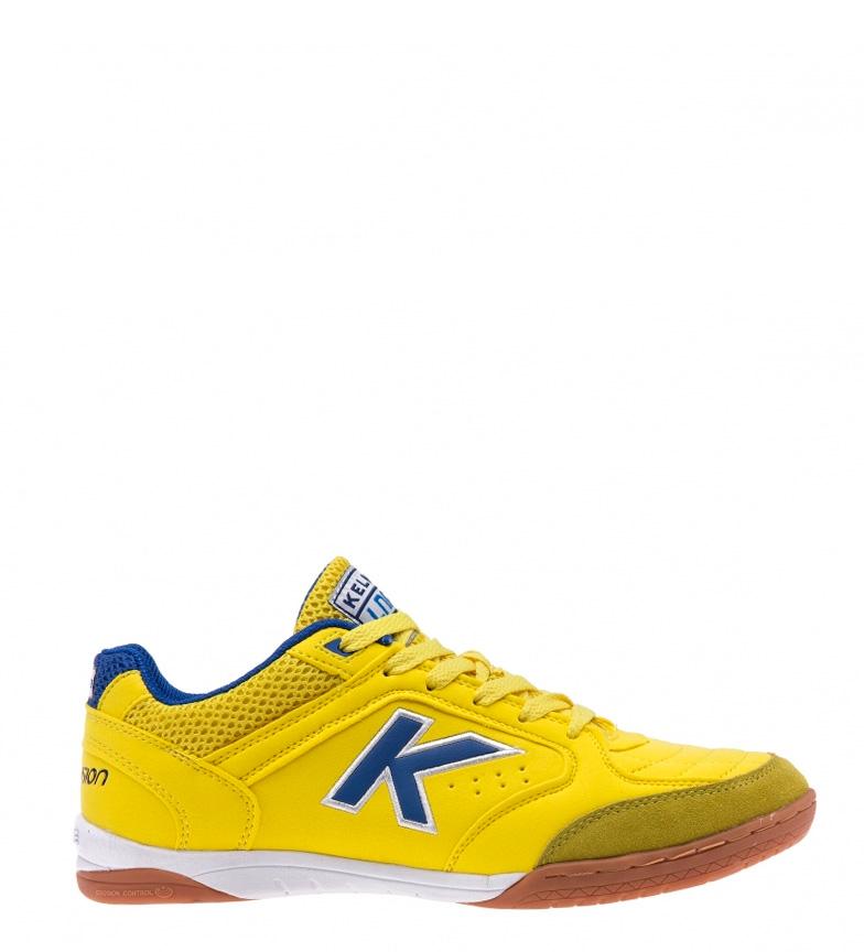Chaussures Kelme De Futsal Jaune Lnfs De Précision paiement de visa Réduction limite ldCwL8