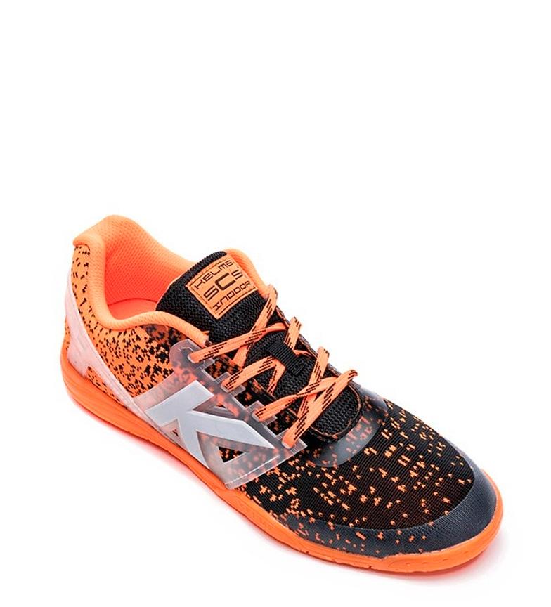 dédouanement nouvelle arrivée Chaussures Kelme Subito De Futsal En Tricot Orange réductions wiki pas cher super bonne prise vente r7yt3g8vu,