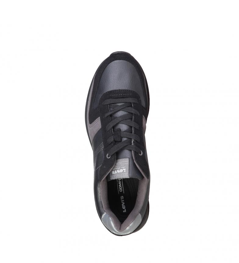 Chaussures Levis Peter Noir pas cher combien originale sortie jeu abordable fiable collections discount YT8TYVOx0