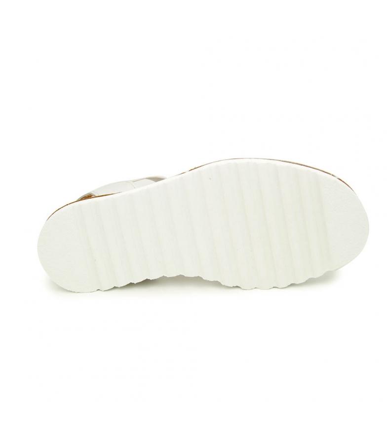 vente dernière Liberitae Peau Élastique Blanc Avarca vente vraiment pas cher combien confortable lKl67RCvH