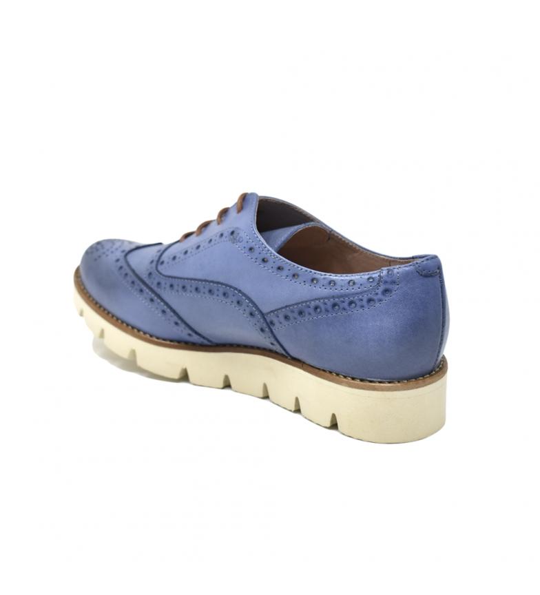 Blucher De Chaussures En Cuir Bleu Liberitae réduction en ligne Cnn4xeMKGB