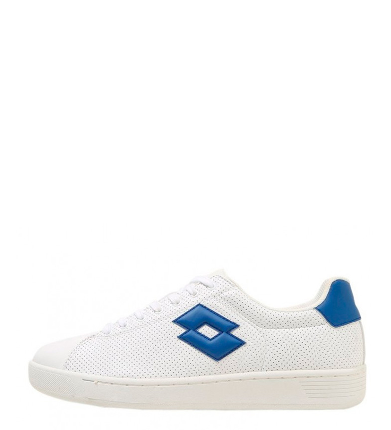 Chaussures Blanches De Loto 1973 Vii Micro, Bleu