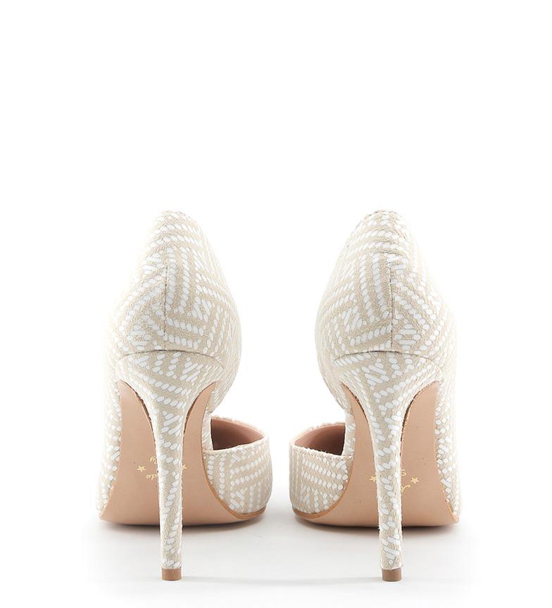 Chaussures Faites En Amine Blanche Italie Hauteur Du Talon Beige: 10cm jeu Footlocker Livraison gratuite qualité vente pré commande wiki jeu SAST pas cher qhJ9S