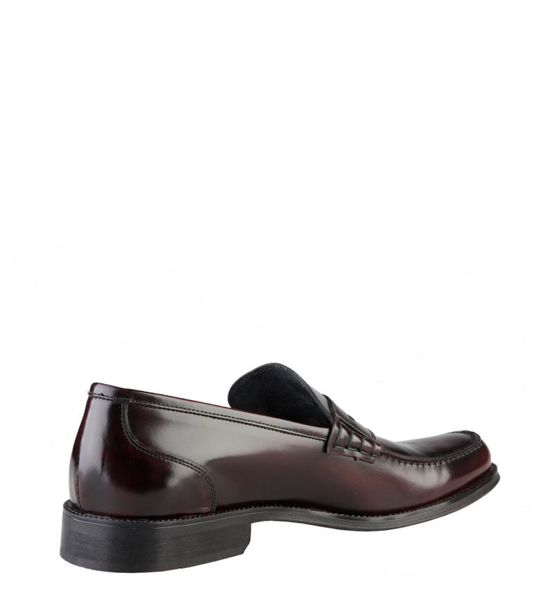 Chaussures Made In Italy Peau Grenat Tiziano meilleur gros rabais Nice vente pp0NybW