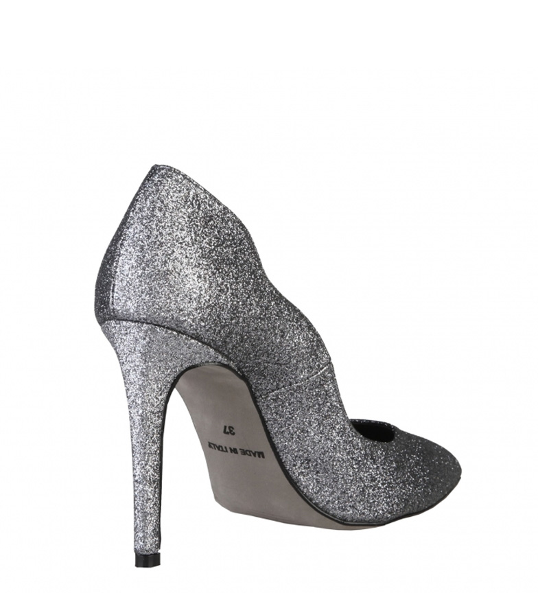 boutique pas cher Chaussures Made In Italy Francesca Gris 10cm Talon grand escompte 2015 jeu nouveau BMToKwR0F