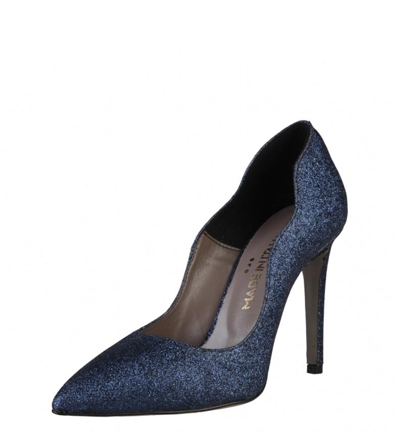 Chaussures Fabriquées En Italie Marine Francesca Talon 10cm Nice jeu confortable Dv7jjfxfSY