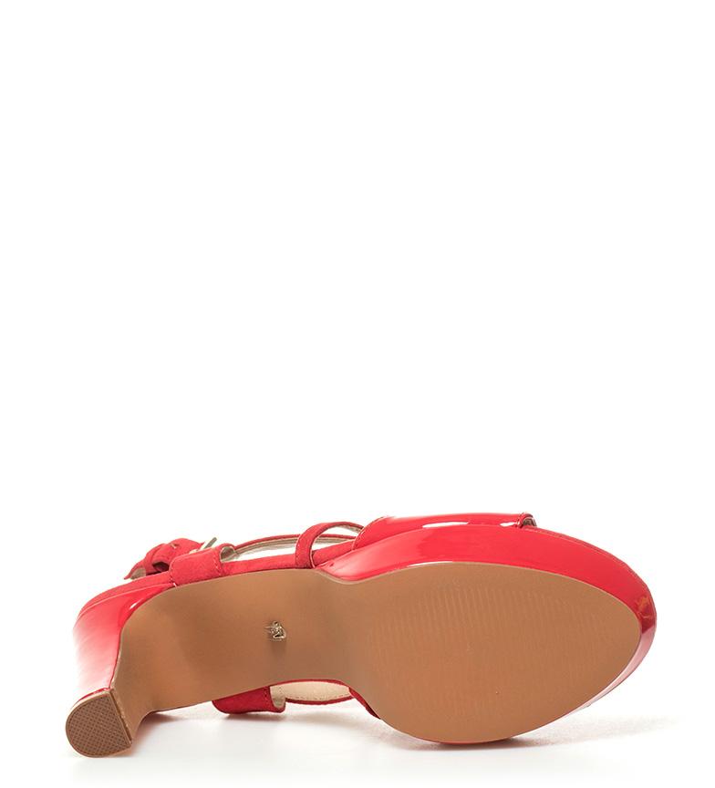 Emma Sandales Mariamare Talon Rouge Haute + Plate-forme: 10.5cm Nice jeu expédition faible sortie eastbay de sortie collections de dédouanement Nice lfCOwso28