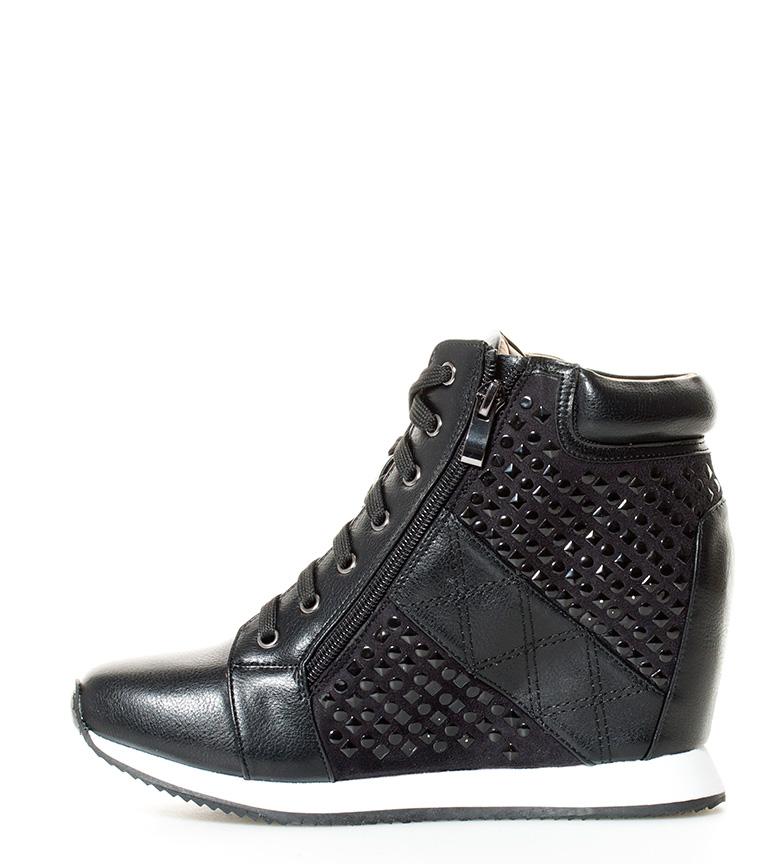 Mariamare Chaussures Coin Noir Hauteur Hebe: 8cm remises en vente réduction authentique sortie incroyable acheter plus récent Réduction grande remise HzjPF
