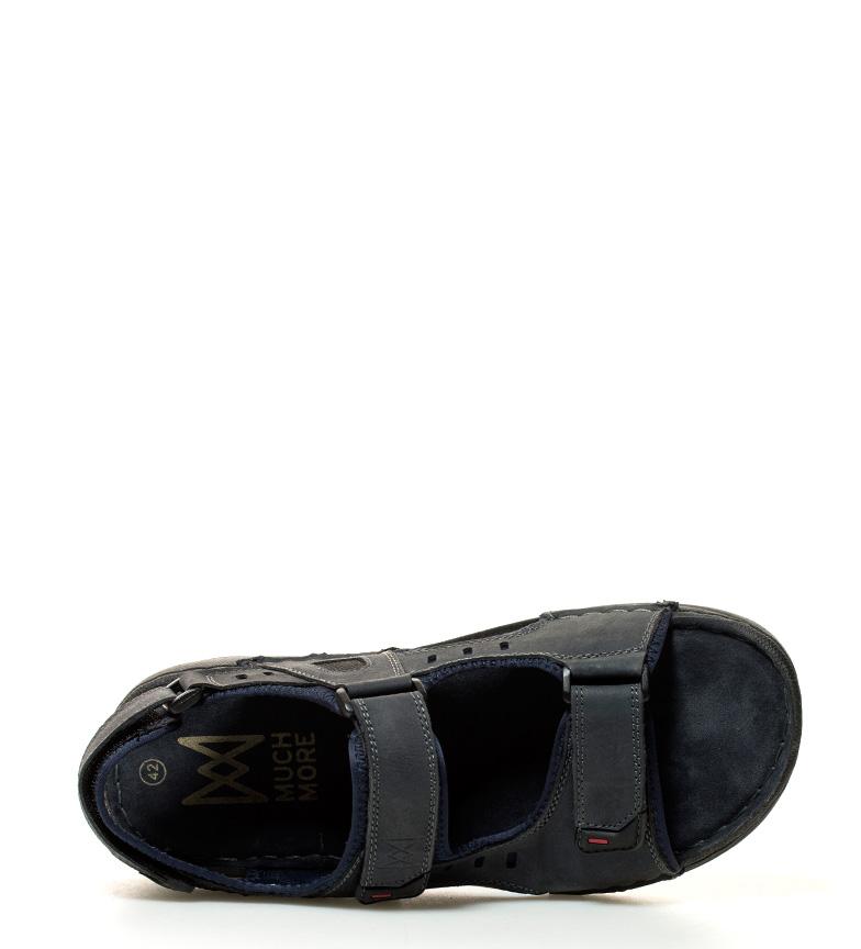 Beaucoup Plus Sandales En Cuir Willi Marine jeu Footlocker vente bon marché payer avec visa ordre de vente boMxz