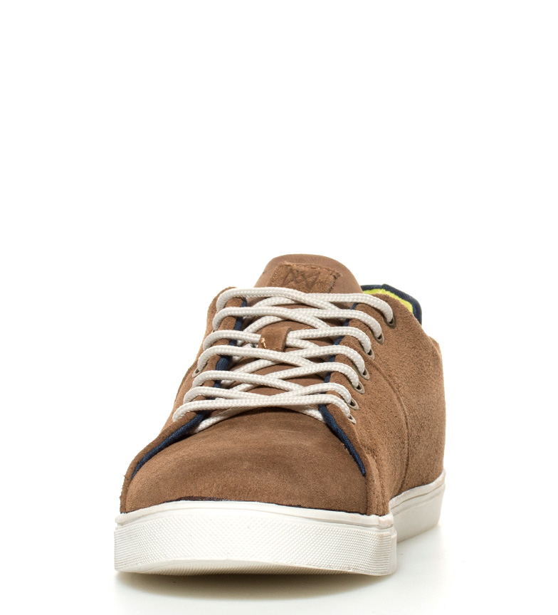 Beaucoup Plus Chaussures En Cuir Camel Bonheur achats en ligne vente visite nouvelle vente classique sneakernews à vendre combien NhEkpzUF