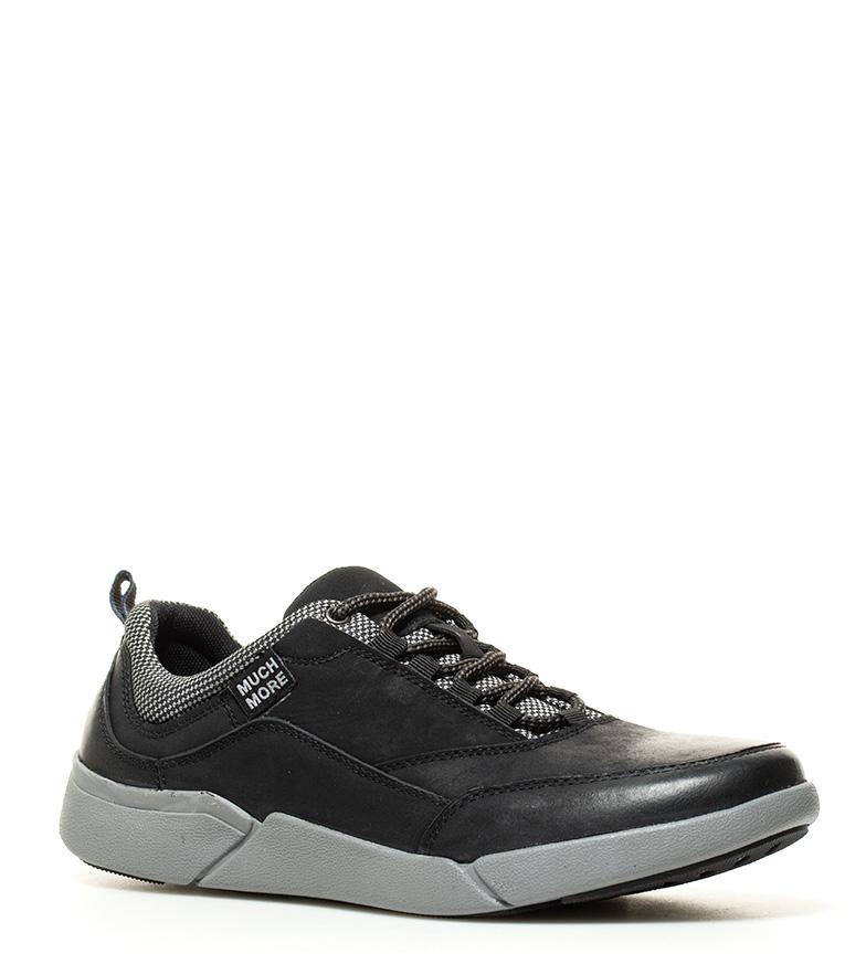Beaucoup Plus Finn Chaussures En Cuir Noir parcourir à vendre vraiment en ligne VL5Aw3L2