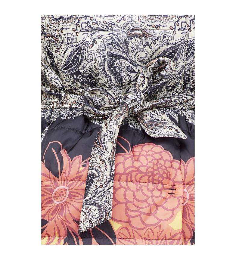 qualité supérieure Belle Impression Multicolore Manteau Matelassée braderie sucyx4