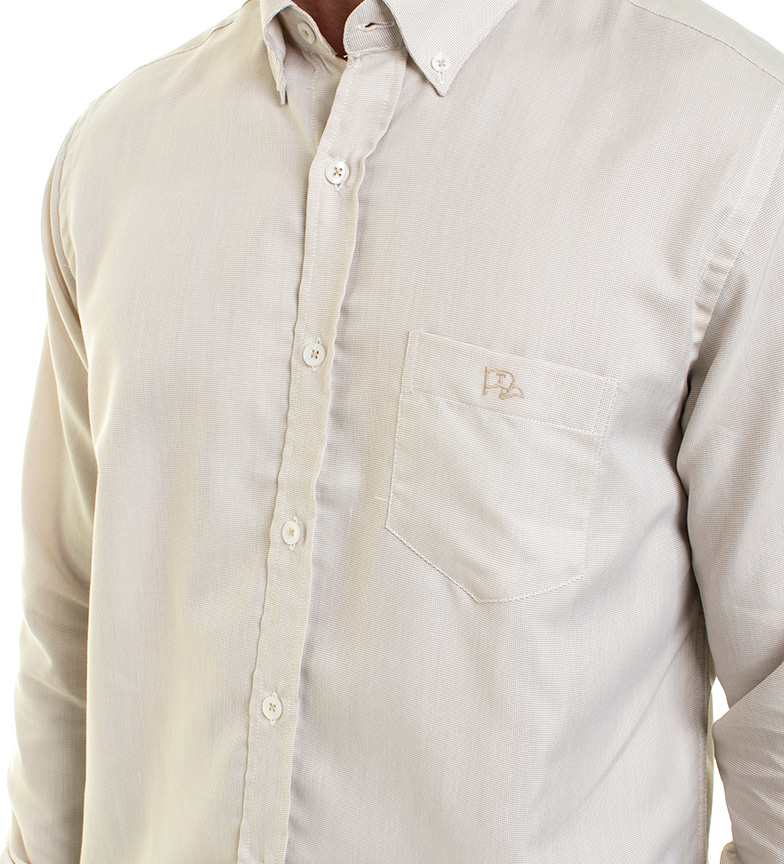 Vieux Vieux Froid Taylor Camisa Camisa Beige Taylor Beige rxedCoBW